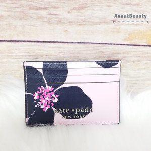 Kate Spade Cameron Grand Flora Card Holder Pink